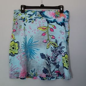 Fresh produce  cotton mini skirt medium